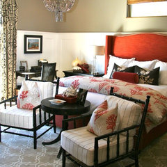 eclectic bedroom by SINGLEPOINT DESIGN BUILD INC.