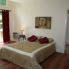 Contemporary Bedroom by Tina Clarke
