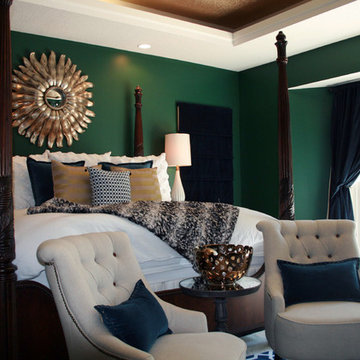 Master Bedroom : Stately Modern Style