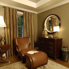 Modern Bedroom by Steiner Design Interiors