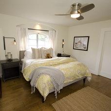 Eclectic Bedroom by Stonebrook Design Build