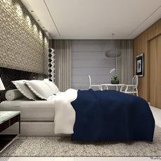Contemporary Bedroom by Studio Robson Martins