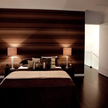 Contemporary Bedroom by Luisa Interior Design