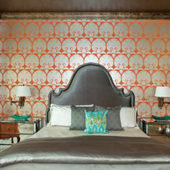 eclectic bedroom by Design Studio2010, LLC