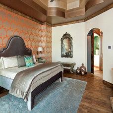 Eclectic Bedroom by Design Studio2010, LLC