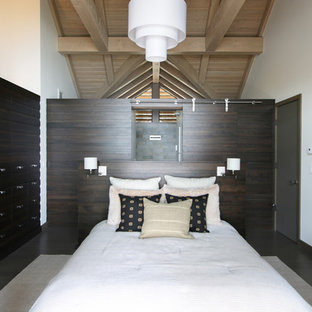 Bedroom - contemporary master bedroom idea in Seattle