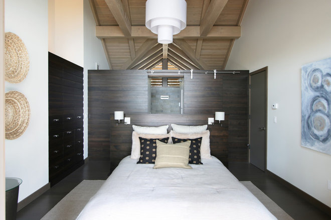Contemporary Bedroom by Masterson Studio