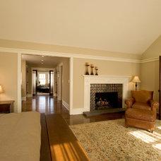 Craftsman Bedroom by Clawson Architects, LLC
