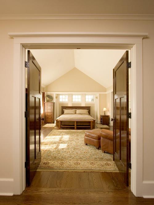 Bedroom Double Doors   Houzz