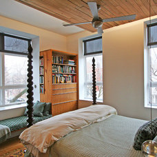 Contemporary Bedroom by Sullivan, Goulette & Wilson Ltd. Architects