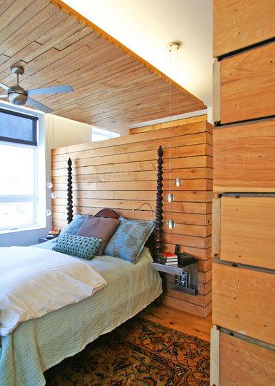 コンテンポラリー 寝室 by Sullivan, Goulette & Wilson Ltd. Architects