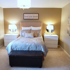 Modern Bedroom by Sunlight Staging & Home Decor