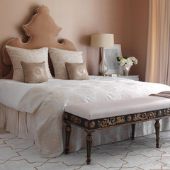contemporary bedroom by Tara Seawright