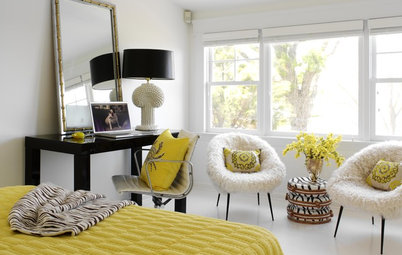 14 Buzzworthy Yellow and Black Interiors
