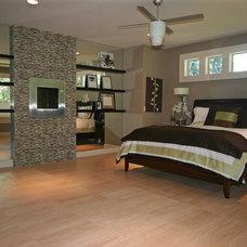 Contemporary Bedroom by Taylor Design