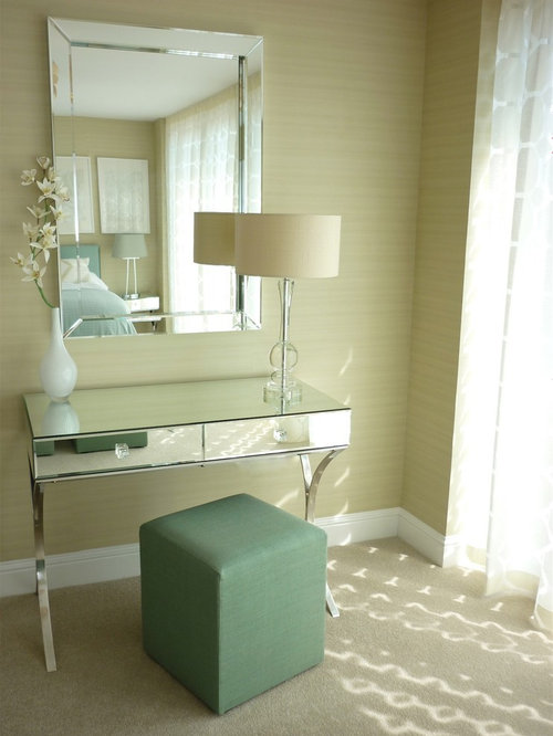 Mirrored dressing table home design ideas pictures for Bedroom dressing table designs