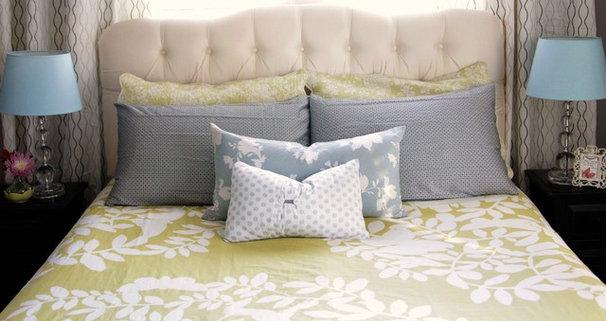 Bedroom by Heather Freeman Design Co.