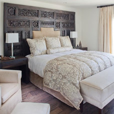 Eclectic Bedroom by Palm Design Group