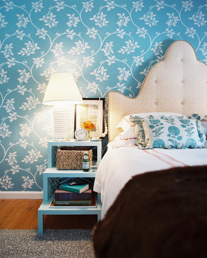 Eclectic Bedroom by TILTON FENWICK