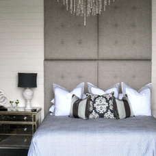 contemporary bedroom by Tracery Interiors