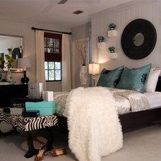 Contemporary Bedroom by Troy Spurlin Interiors