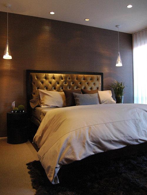 Idee e foto di camere da letto moderne fucsia 8 pendant lamp by ...