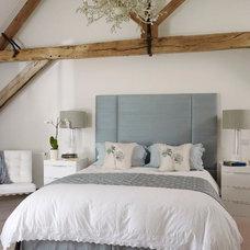 Farmhouse Bedroom by Sarah Finney Interiors