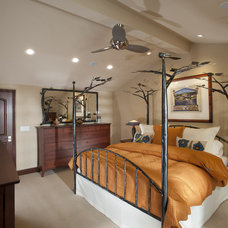 Traditional Bedroom by CAGE Design Build