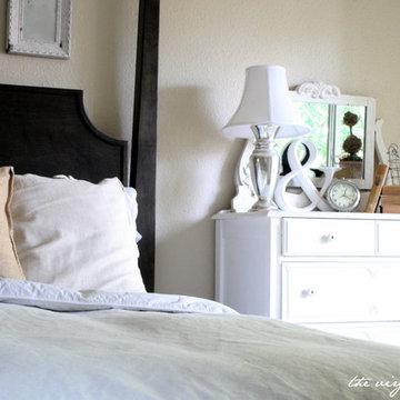Master Bedroom White and Cream