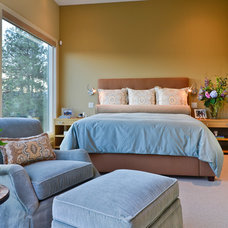 Contemporary Bedroom by Willetts Design & Associates