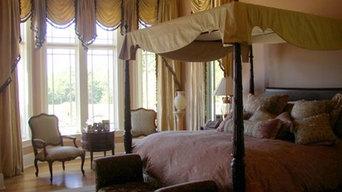 Master bedroom  windows