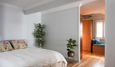 An Unused Room Becomes a Stunning, Open-Plan Master Suite