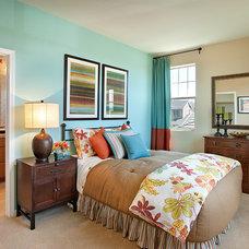 Contemporary Bedroom by Borden Interiors & Associates