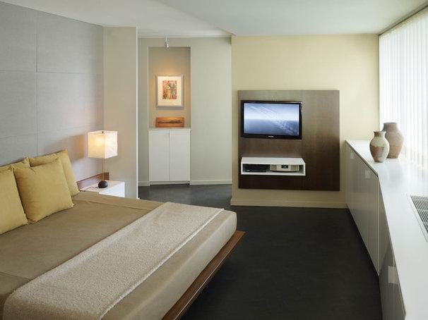 Contemporary Bedroom by Studio Santalla, Inc