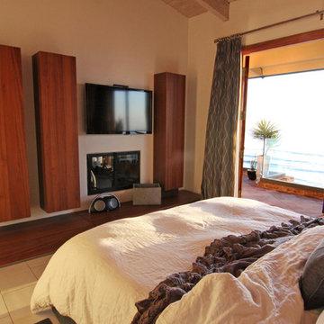 Master Bedroom with Modern Storage