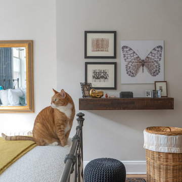 Master Bedroom with Momo the Cat