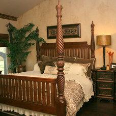 Eclectic Bedroom by Bobo Custom Builders