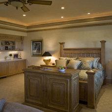 Mediterranean Bedroom by Macaluso Designs, Inc.