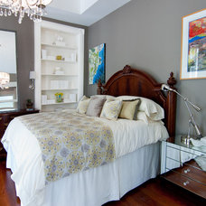 Contemporary Bedroom by Zimmerman Interiors