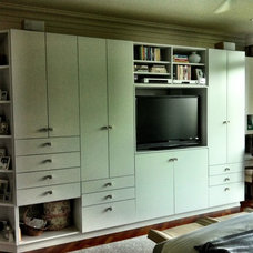 Modern Bedroom Master Built-ins