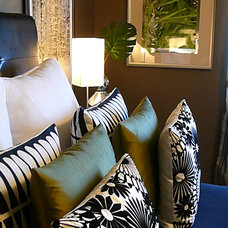 Eclectic Bedroom by FOCAL POINT STYLING