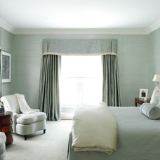 Transitional Bedroom by Robin McGarry Interior Design