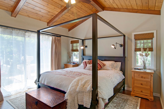 Rustic Bedroom by RemodelWest