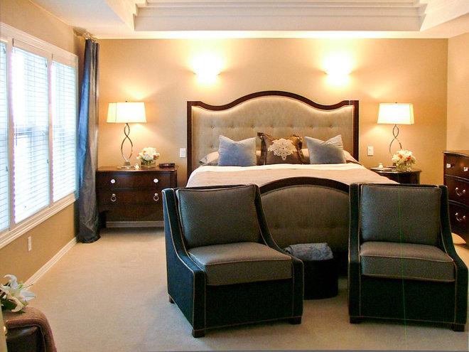 Contemporary Bedroom by Angela Todd Designs