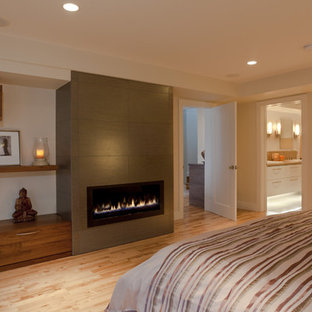 2 car garage conversion bedroom ideas and photos houzz - Garage converted to master bedroom ...