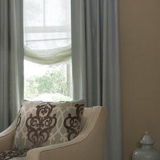 Contemporary Bedroom by Kathy Corbet Interiors