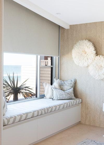 Contemporary Bedroom by Donna Guyler Design