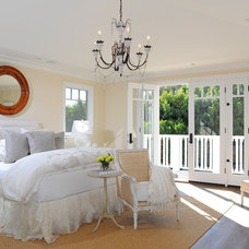 Beach Style Bedroom by DTM INTERIORS