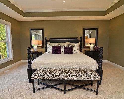 Master Bedroom Tray Ceiling painted tray ceiling bedroom | houzz