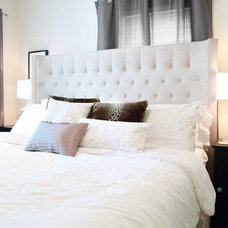 Contemporary Bedroom by Luxe Interiors by Tiffany